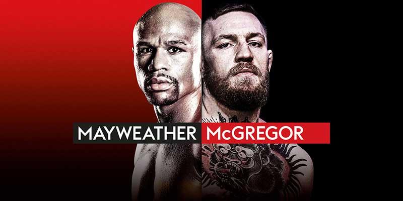 Mayweather gegen McGregor