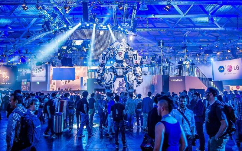 Die Gamescom zieht jedes Jahr mehrere Hundertausend Besucher an; Sergey Galyonkin