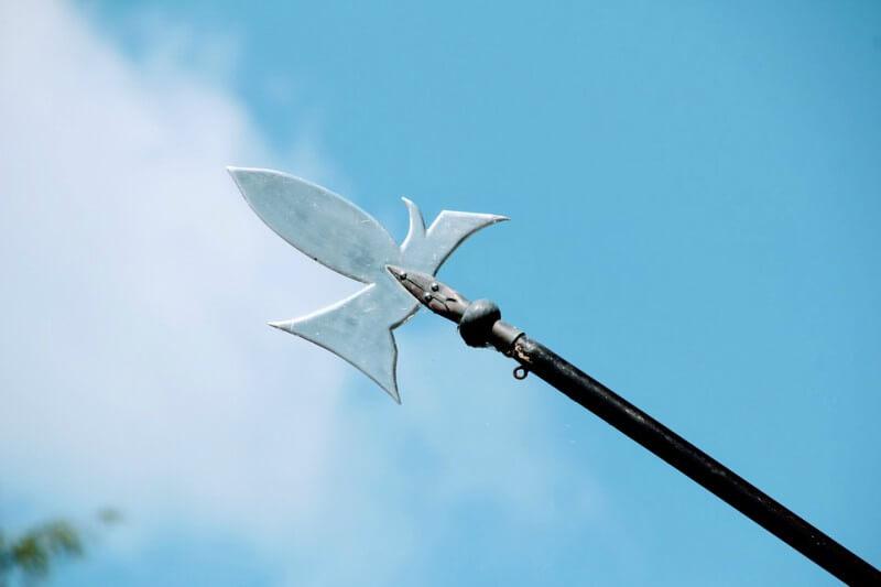Bild einer Speerspitze aus der HBO-Erfolgsserie Game of Thrones.