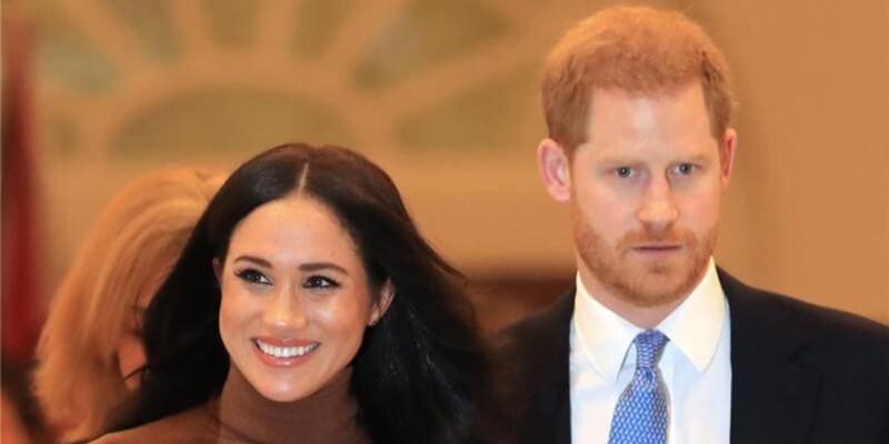 Prinz Harry mit seiner Frau Herzogin Meghan.