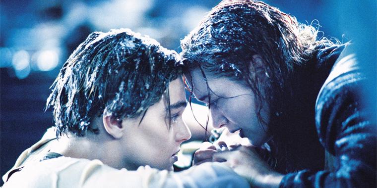 Kate und Leo sind fast erfroren
